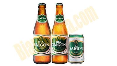 Bia chai Sài Gòn Lager
