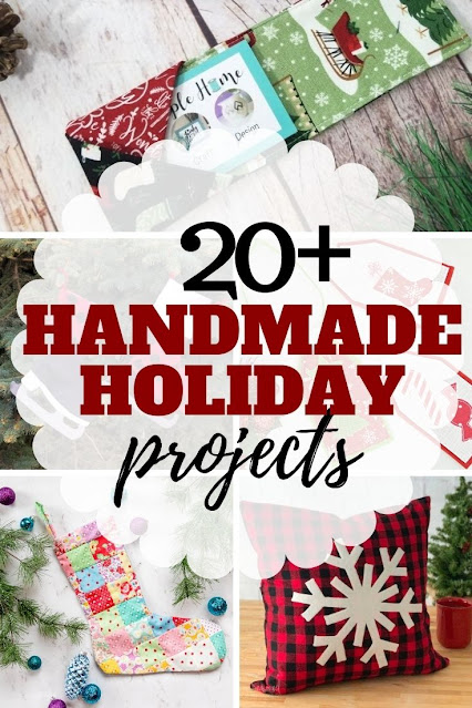 Create your own handmade holiday with these creative diy Christmas gifts and projects.
