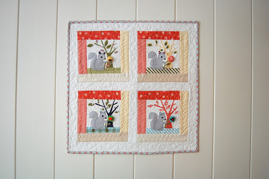 "SPLENDID SAMPLER MY BLOCK: ""SEWING NUT"""