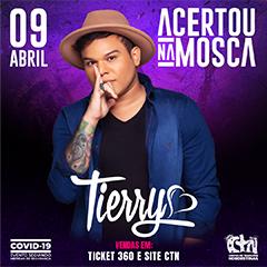 09/04/2021 Show do Tierry em São Paulo [CTN Limão] Centro de Tradições Nordestinas