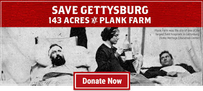 Save Hallowed Ground at the Plank Farm at Gettysburg