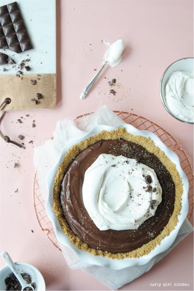 Chocolate Cream Pie, Chocolate Pie Recipe, Chocolate Pudding, Chocolate Custard