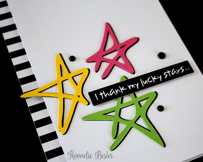 I thank my lucky stars