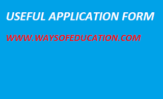 USEFUL APPLICATION FORM  FOR SCHOOL AND TEACHER.