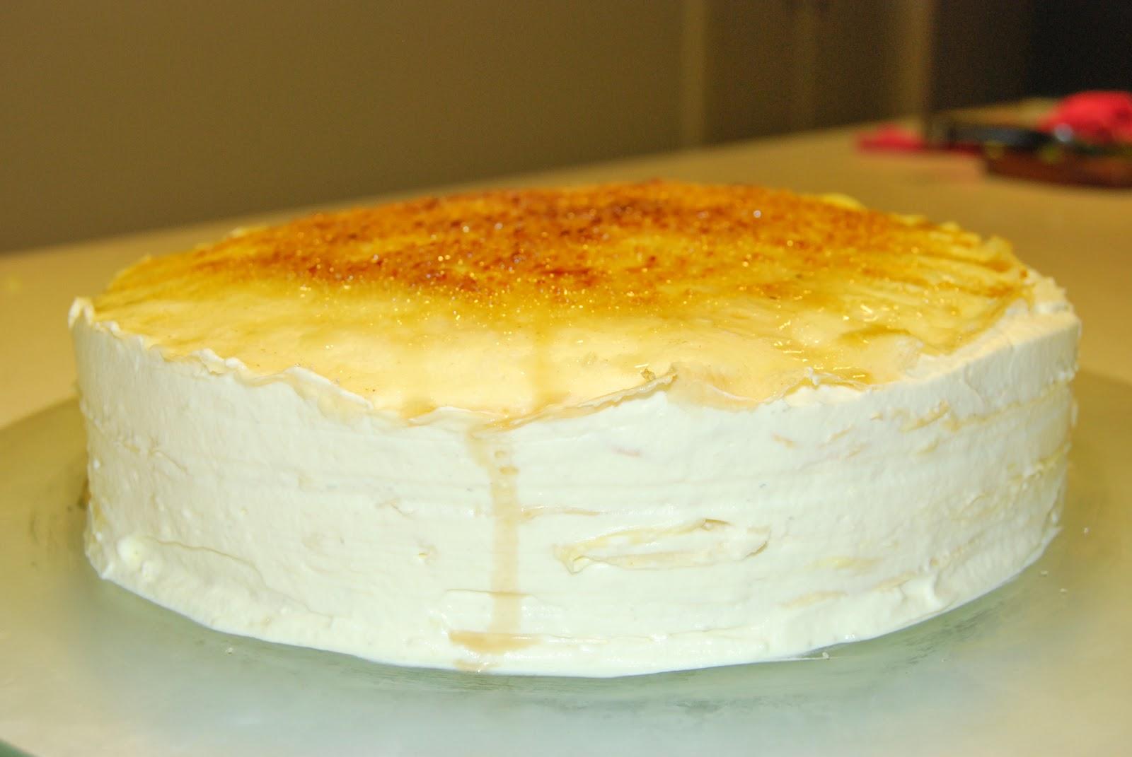 Durian Mille Crepe Cake Recipe