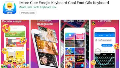 keyboard tulisan keren