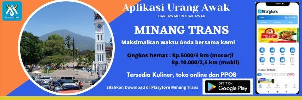 Minang Trans Aplikasi Transportasi, Kurir, Toko Online dan PPOB Karya Anak Minang
