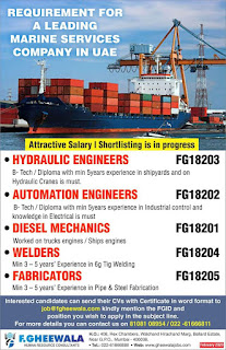 Marine Services Company in UAE