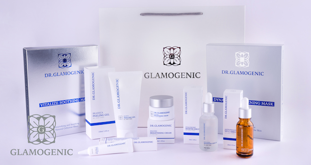 Complete list of Glamogenic skincare products.