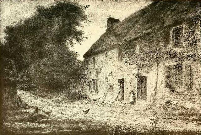 Жан Франсуа Милле - Родной дом Милле
