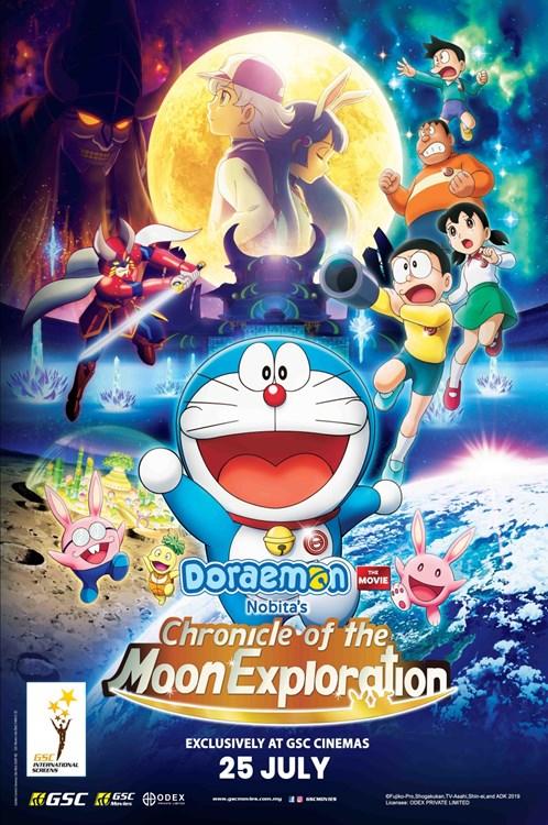 Review Filem Doraemon: Nobita's Chronicle Of The Moon Exploration