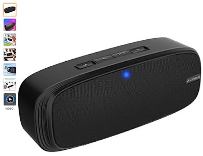 LENRUE Bluetooth Speaker, Wireless Portable Speaker with Loud Stereo Sound