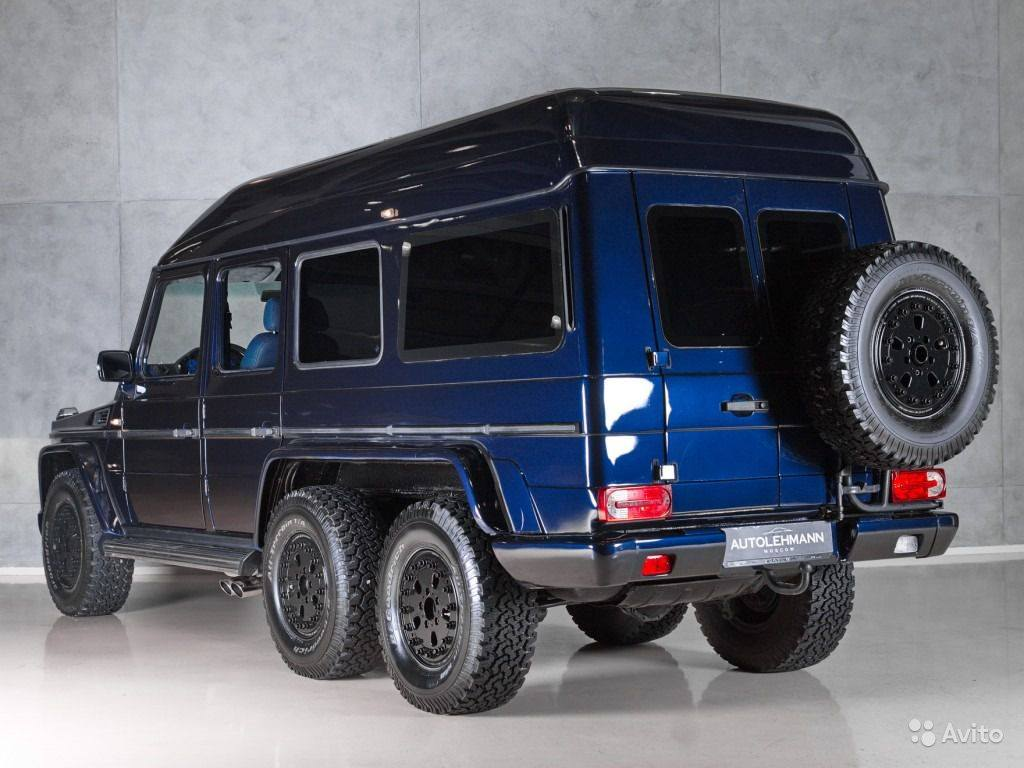 mercedes benz g500 6x6 by schulz tuning benztuning. Black Bedroom Furniture Sets. Home Design Ideas