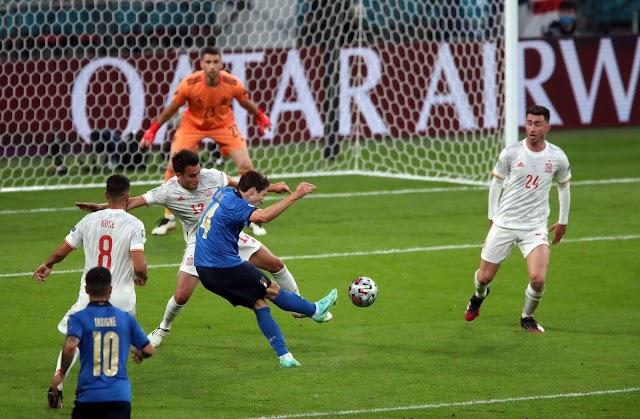 Італія по пенальті обіграла Іспанію та вийшла у фінал Євро-2020