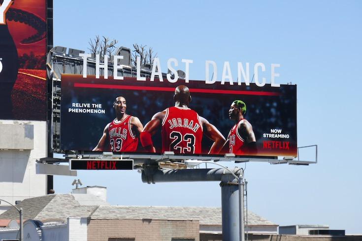 Last Dance Netflix billboard
