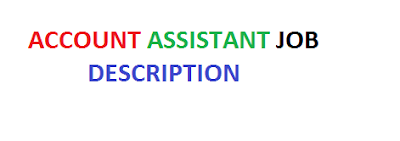Account Assistant Job Description