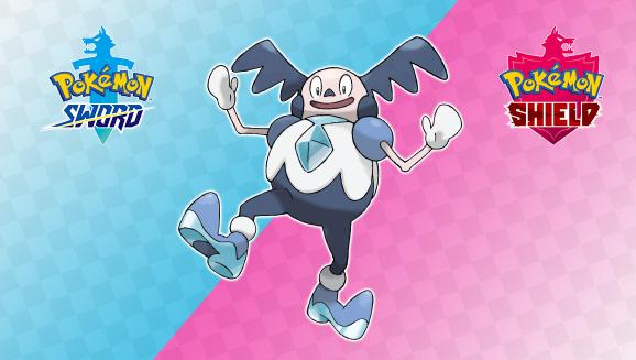 Pokémon Sword e Shield Mr Mime Galar