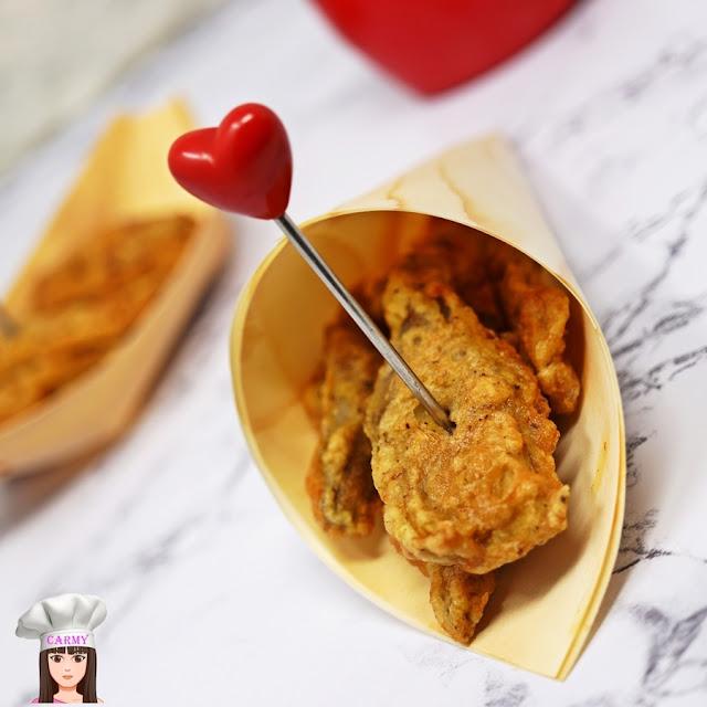 cuori di carciofi fritti