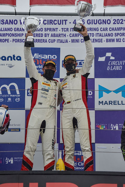 AUTOMOVILISMO: Emocionante triunfo de Jonathan Ceccoto en Misano.