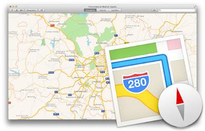 Mapas Apple compite google