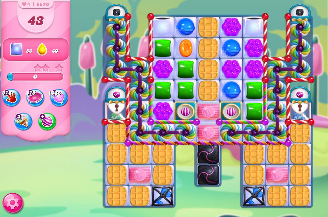 Candy Crush Saga level 8870