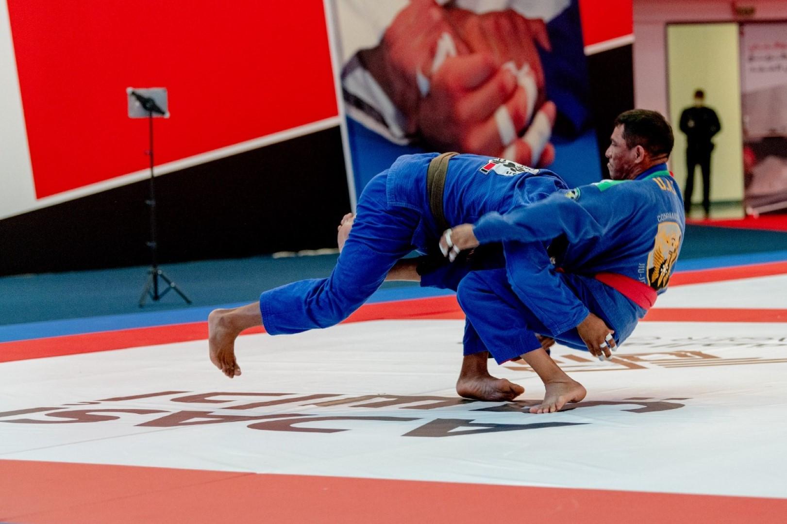 Hamdan bin Mohamed opens Jiu-Jitsu Championship