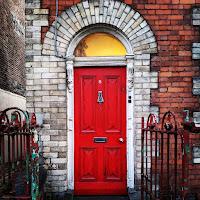 Instagrammable Ireland: Red door in Limerick City