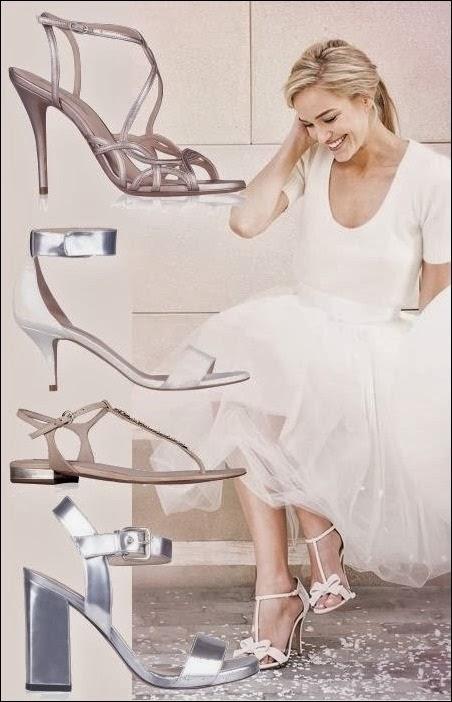 573f0429 Fantasy Fashion Design: Pura López, colección de zapatos de Novia 2014