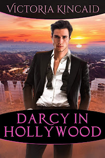 Book cover: Darcy in Hollywood by Victoria Kincaid