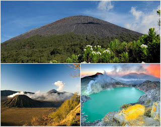 Semeru Trekking, Mount Bromo, Ijen Crater Tour Package 6 Days