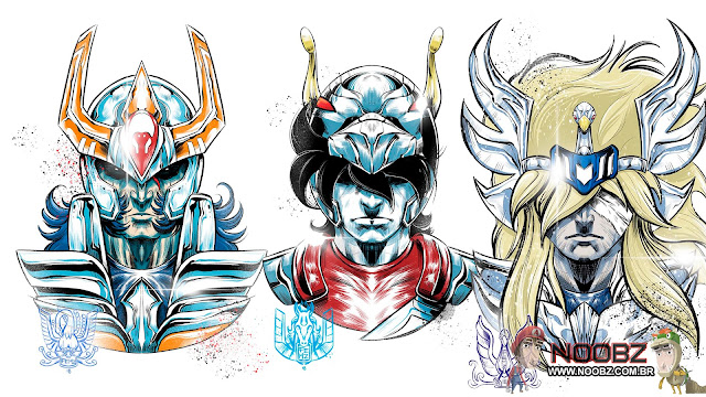 Base Pop Cavaleiros do Zodíaco