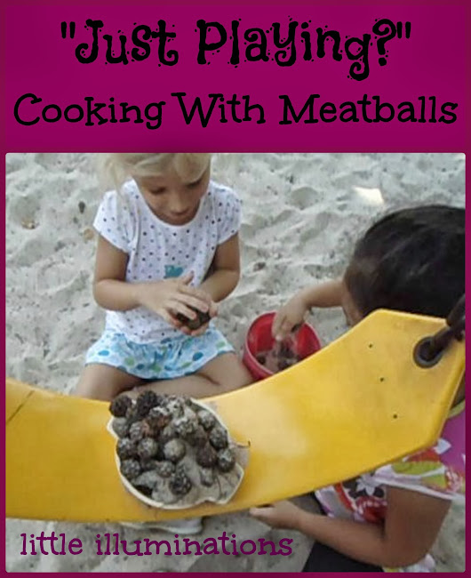Just Playing Blog Hop: Cooking With Meatballs