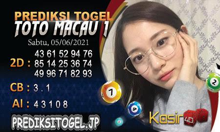 Prediksi Kasir4D Togel Macau Sabtu 05 Juni 2021