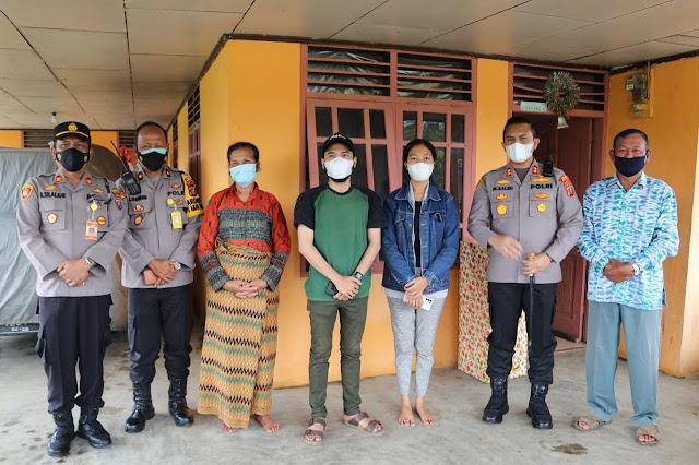 Tunda Pernikahan, Kapolda Sumut Beri Kado kepada Calon Pengantin di Siborongborong