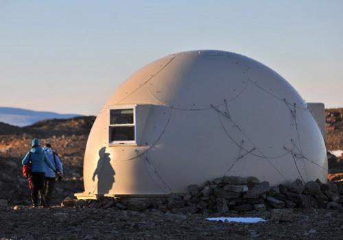 Perkemahan Wisata Kubah White Desert di Antartika Semewah Tidur di Hotel