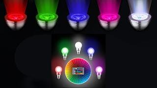 اختيار اللون الذي يناسبك مع لمبات LED