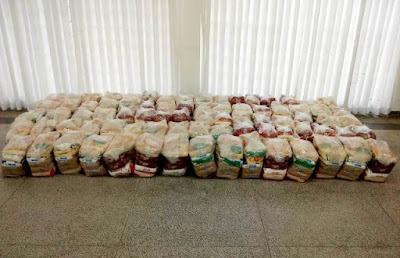 Mais de 7 mil cestas básicas emergenciais foram entregues durante a pandemia pelo Fundo Social de Registro -SP