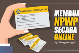 Cara membuat NPWP Online