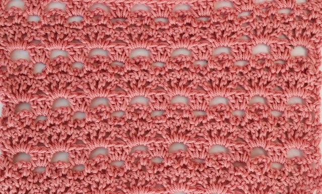 5 -Crochet Imagenes Puntada de abanicos y cadenas a crochet y ganchillo por Majovel Crochet