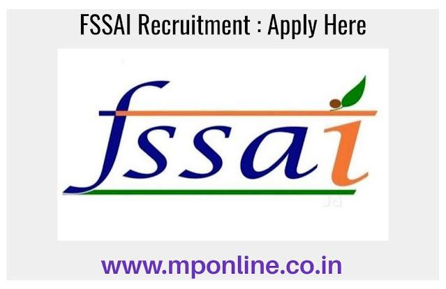 FSSAI Vacancy 2020