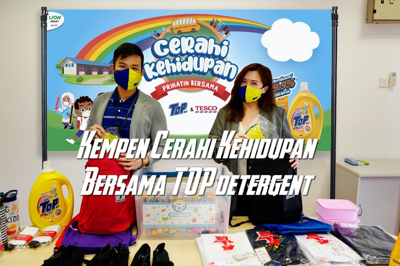 Kempen 'Cerahi Kehidupan Bersama TOP' Bantu 420 Pelajar Orang Asli dengan Kelengkapan Kembali ke Sekolah!