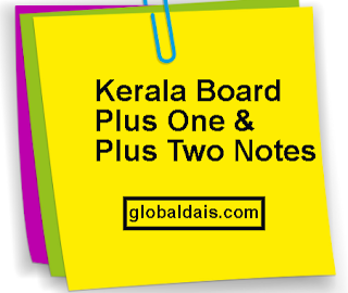 Plus One & Plus Two Arabic Notes PDF Download