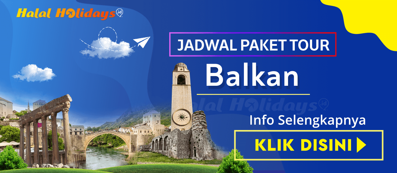 Paket Wisata Halal Tour Balkan Yunani Murah Tahun 2020