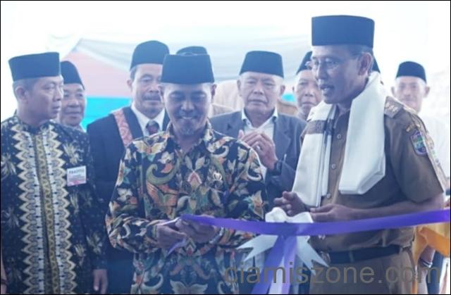 Bupati Resmikan Masjid Dusun Rp1,8 M di Rancah