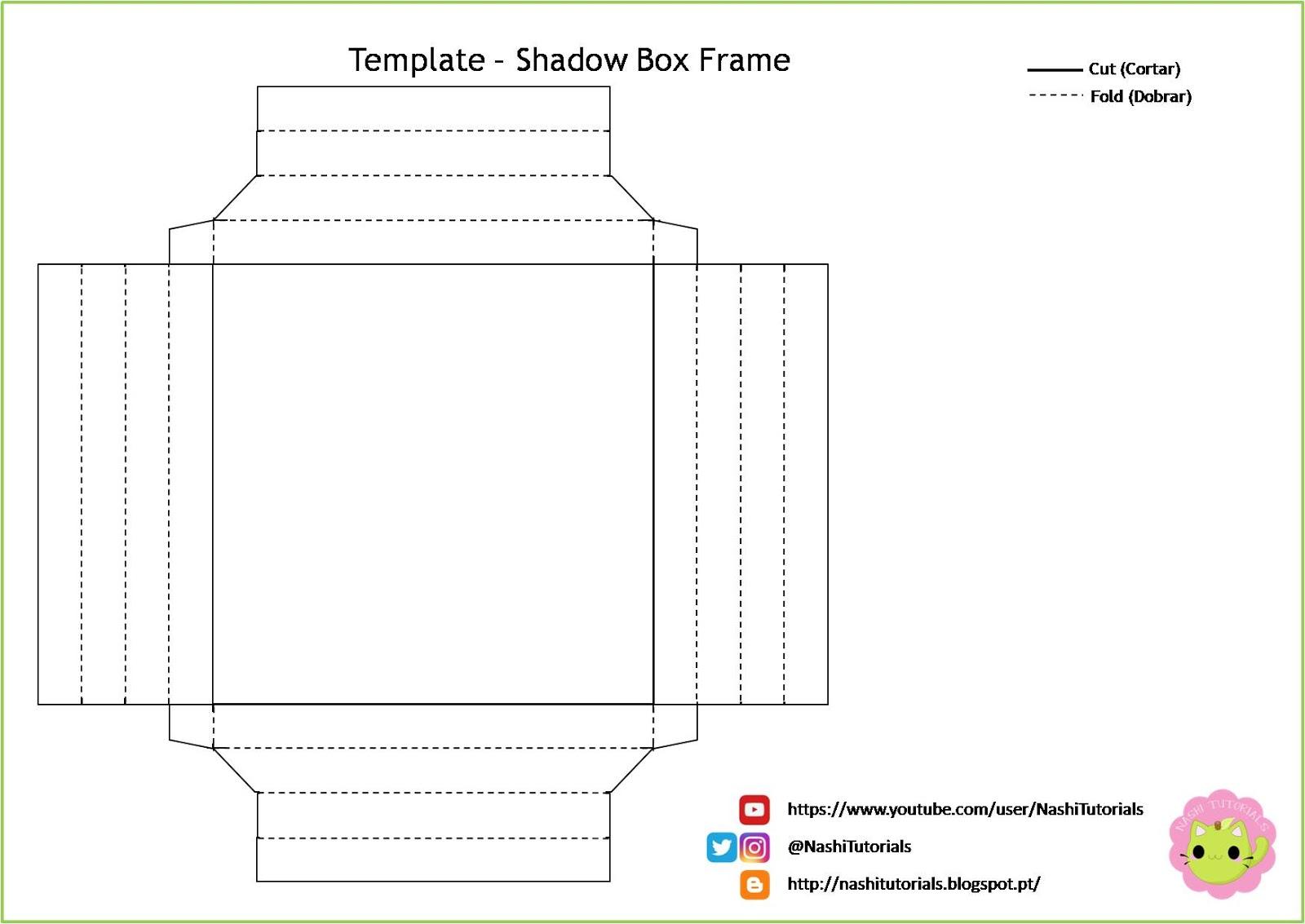 Nashi Tutorials: DIY: Shadow Box Frame (Paper Frame)