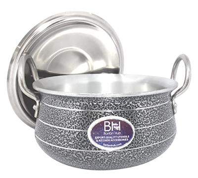 Bartan Hub Aluminium Handi With Lid for Any Modern Kitchen Cooking Needs