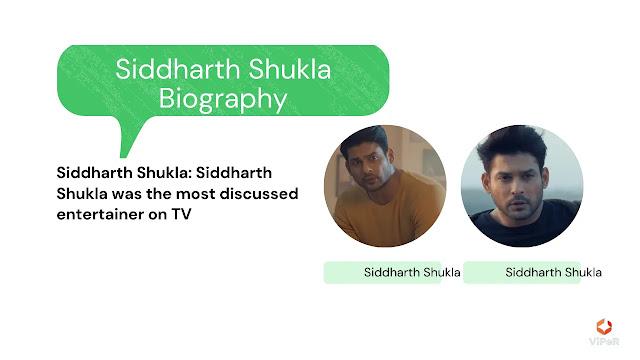 Siddharth Shukla Biography, Siddharth Shukla Birth and Family
