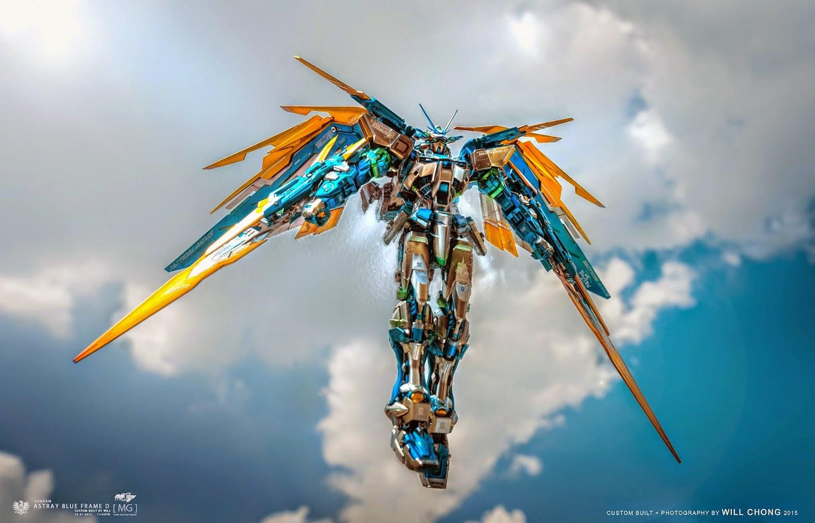 Custom Build Mg 1 100 Gundam Astray Blue Frame D Cold