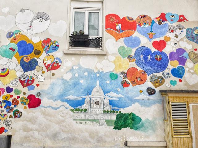 Juliette Bart est une artiste locale qui rend aussi hommage à son quartier