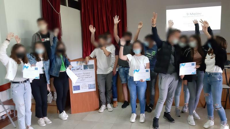 Για 2η φορά το Λύκειο Τυχερού αναγορεύεται σε Σχολείο - Πρέσβης του Ευρωπαϊκού Κοινοβουλίου